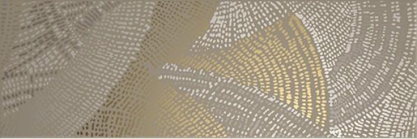 Декор Domino Dec. Diamond Draw Olive Gold 20x60