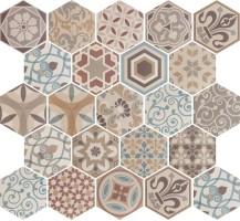 Керамогранит 21356 Hexatile Harmony Colours New 17.5x20 Equipe