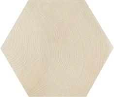 Керамогранит напольный 21626 Hexawood White 17.5x20 Equipe