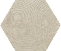 Керамогранит напольный 21627 Hexawood Grey 17.5x20 Equipe