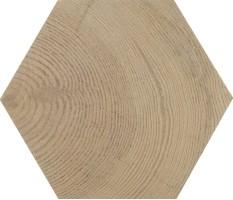 Керамогранит напольный 21628 Hexawood Tan 17.5x20 Equipe