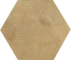 Керамогранит напольный 21629 Hexawood Natural 17.5x20 Equipe