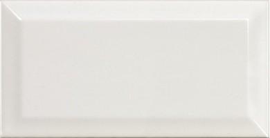 Настенная плитка 13923 Metro White 10x20 Equipe