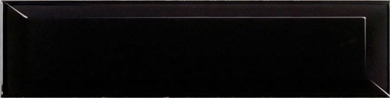 Настенная плитка 14249 Metro Black Gloss 7.5x30 Equipe