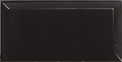 Настенная плитка 20124 Metro Black Matt 10x20 Equipe