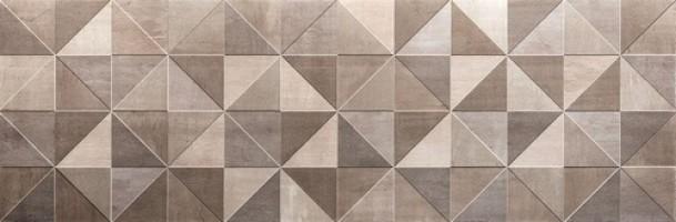Декор fMue Color Now Tangram Fango Inserto Rt 30.5х91.5 Fap Ceramiche