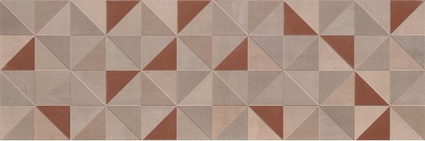 Декор fMuf Color Now Tangram Rame Inserto Rt 30.5х91.5 Fap Ceramiche