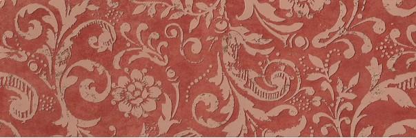 Декор fMus Color Now Damasco Marsala Inserto 30.5х91.5 Fap Ceramiche