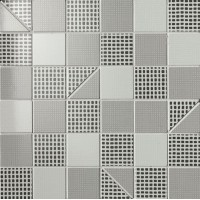 Мозаика настенная fOEI Pat Grey Slash Mosaico 30.5x30.5 Fap Ceramiche