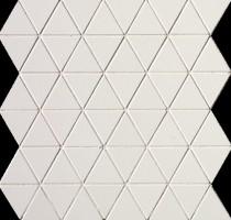 Мозаика настенная fOEF Pat White Triangolo Mosaico 30.5x30.5 Fap Ceramiche