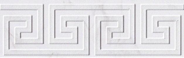 Бордюр fLT2 Roma Greca Calacatta Listello 8x25 FAP Ceramiche