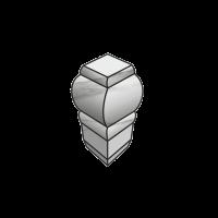 Угловой элемент внешний FAP Ceramiche Roma Calacatta a.e london 1.5x5.5 fLUF