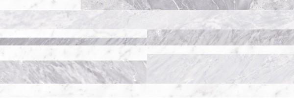 Настенная плитка fNIZ Roma Diamond Deco White Brillante 25x75 FAP Ceramiche