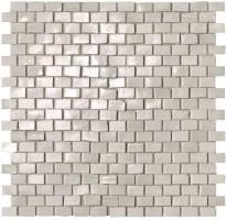 Мозаика fNWR Brickell White Brick Mos.Gloss 30x30 Fap Ceramiche