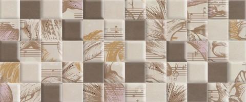 Плитка настенная 10101004006 Allegro Beige Wall 03 25x60 Gracia Ceramica