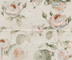 Панно 10301001940 Garden Rose beige panno 01 компл.из 2х шт 60x50 Gracia Ceramica