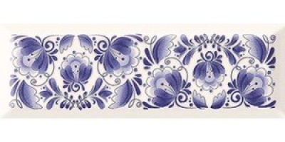 Декор Gracia Ceramica Metro Gzhel 01 10x30 10301001850