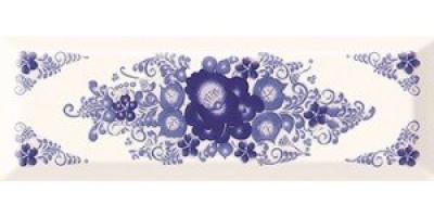 Декор Gracia Ceramica Metro Gzhel 03 10x30 10301001852