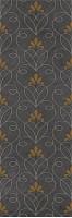 Декор 10301002141 Silvia black 02 30x90 Gracia Ceramica