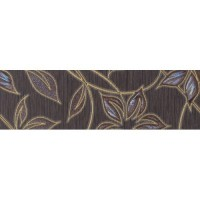 Бордюр Gracia Ceramica Muraya chocolate 01 25x7.5 10212001717