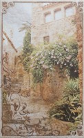 Декор Gracia Ceramica Palermo beige 04 25x40 10301001646