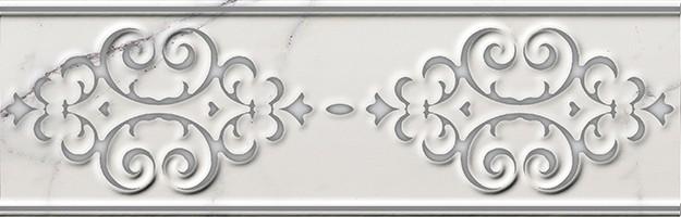 Бордюр Italon Charme Evo Statuario Listello Deluxe 7.5х25 600090000369