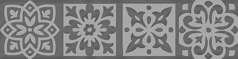Вставка Italon Charme Evo Tozzetto Lady Silver 7.2x7.2 декоративная 600090000324