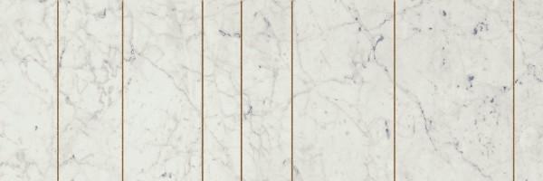 Декор Italon Charme Extra Carrara Ins Golden Line 25x75 600080000369