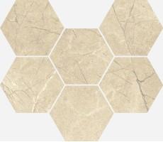 Декор Italon Charme Extra Arcadia Mosaico Hexagon 25x29 620110000066