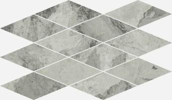 Декор Italon Charme Extra Silver Mosaico Diamond 28x48 620110000079
