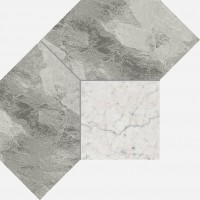 Декор Italon Charme Extra Silver Mosaico Polygon Lux 28.5x21 620110000083