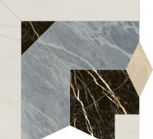 Декор Italon Charme Extra Atlantic Intarsio Angolo Lux 59x59 620120000071