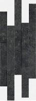 Декор Italon Рум Стоун Блэк Брик 3D 28х78 620110000103