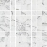 Мозаика K-1000/LR/m01 Carrara Marble Trend 30x30 Kerranova