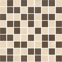 Мозаика K-1002(1003)/MR(LR)/m01 Crema Marfil Marble Trend Pulpis 30x30 Kerranova