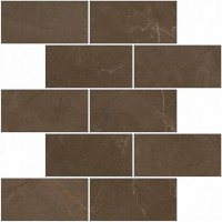 Мозаика K-1002/MR/m14 Crema Marfil Marble Trend Pulpis 30.7x30.7 Kerranova