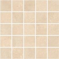 Мозаика напольная K-1003/LR/m14 Marble Trend Crema marfil 30.7x30.7 Kerranova