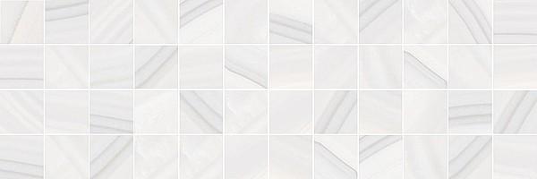 Декор MM60083 Agat мозаичный светлый 20x60 Laparet