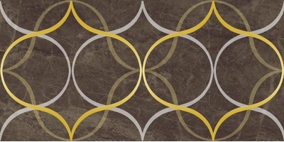 Декор Crystal Resonanse коричневый 30x60 Laparet