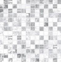 Мозаика Extra серый+белый 30x30 Laparet
