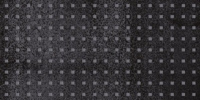 Декор Metallica Pixel чёрный 25х50 Laparet