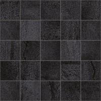 Декор MM34034 Metallica мозаичный чёрный 25х25 Laparet