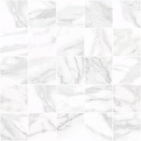 Декор MM34037 Olimpus мозаичный белый 25х25 Laparet