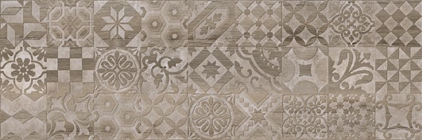 Декор 1664-0165 Альбервуд 1 коричневый 20х60 Lasselsberger Ceramics