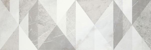 Декор MM2D EvolutionMarble Decoro Tangram White Rhino 32.5х97.7 Marazzi Italy