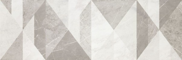 Декор MM2E Decoro Tangram EvolutionMarble Calacatta Oro/Tafu 32.5х97.7 Marazzi Italy