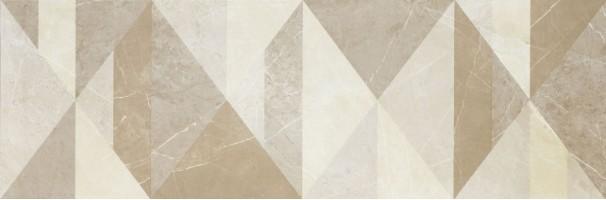 Декор MM2F Decoro Tangram EvolutionMarble Golden Cream 32.5х97.7 Marazzi Italy