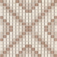 Мозаика настенная M09V Stone Art Mosaico Ivory/Taupe 40x40 Marazzi Italy