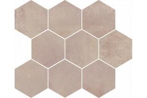 Мозаика настенная O-ARL-WII301 Arlequini Светло-бежевый 28x33.7 Mei