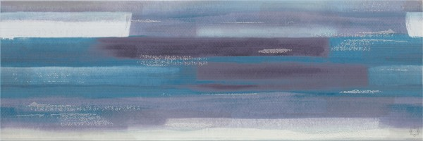 Вставка Artistico O-ARI-WIU041-96 голубой 25x75 Mei